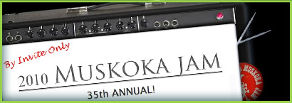 Muskoka Music Jam Website
